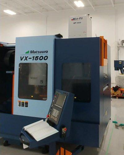 Aeroex Mist Collector Mist-Fit on Matsuura VX-1500