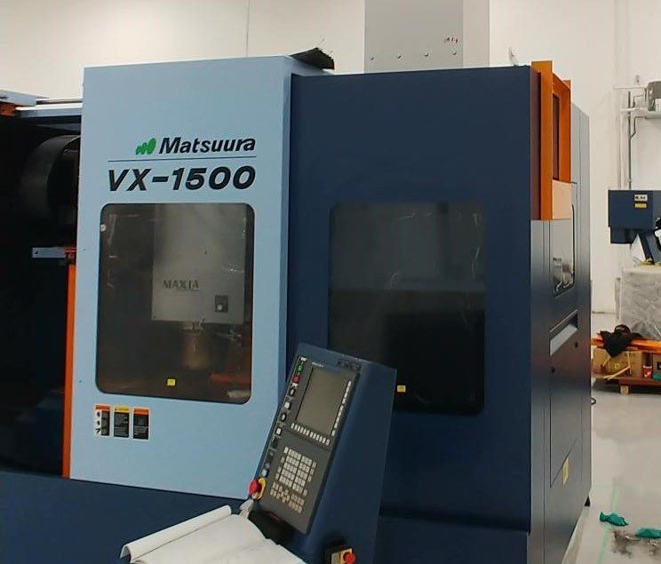 Aeroex Mist Collector Mist-Fit on Matsuura VX-1500