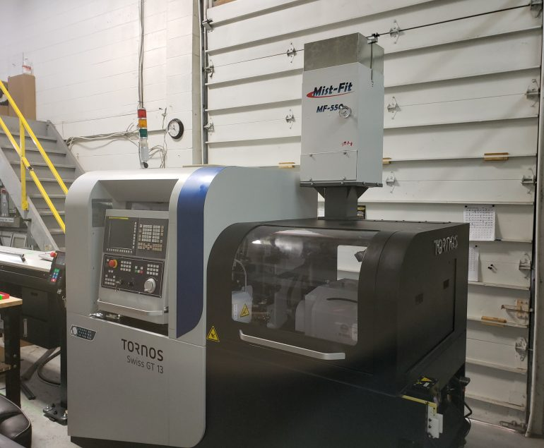 Compact Mist Collector - Tornos Mist-Fit