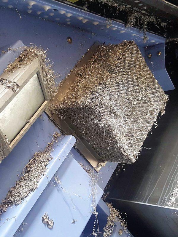 Aeroex Mist Collector Chip Strainer